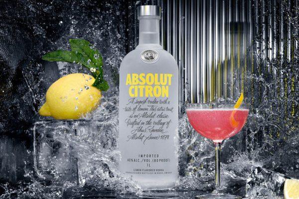 rượu Absolut Citron Vodka