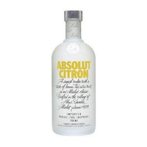 rượu Absolut Citron Vodka ava
