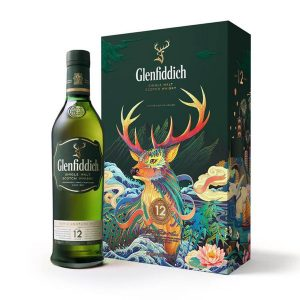 rượu Glenfiddich 12 Hộp quà tết ava