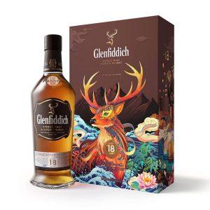 rượu Glenfiddich 18 Hộp Quà Tết 2020 ava