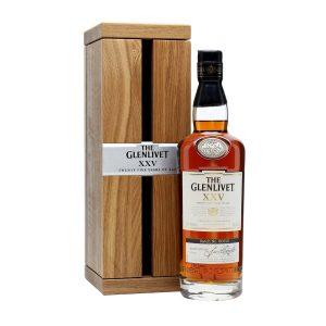 rượu Glenlivet 25 ava