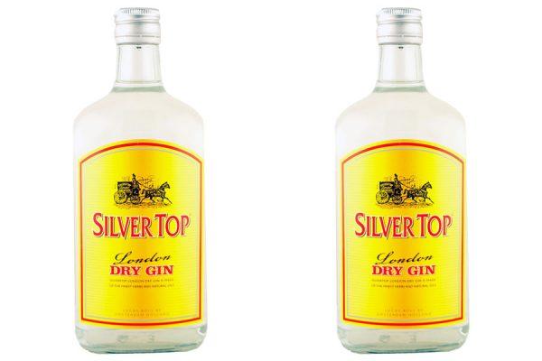 rượu Silver Top Gin