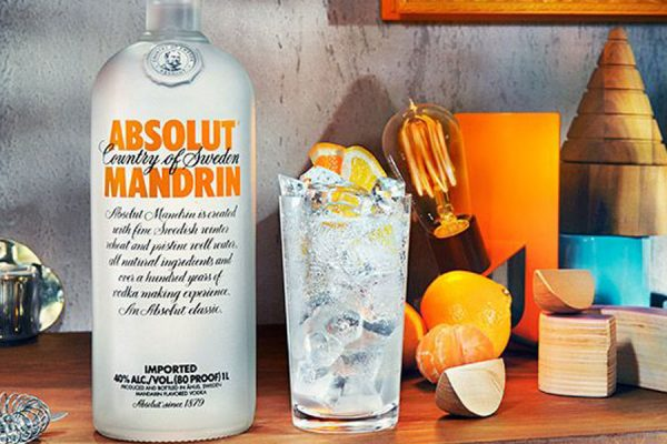 rượu Absolut Mandrin Vodka