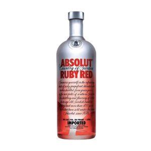 rượu vodka Absolut Ruby Red ava
