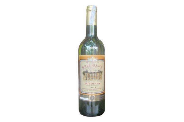 rượu vang Belle France Bordeaux Blanc Trắng