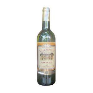 rượu vang Belle France Bordeaux Blanc Trắng ava