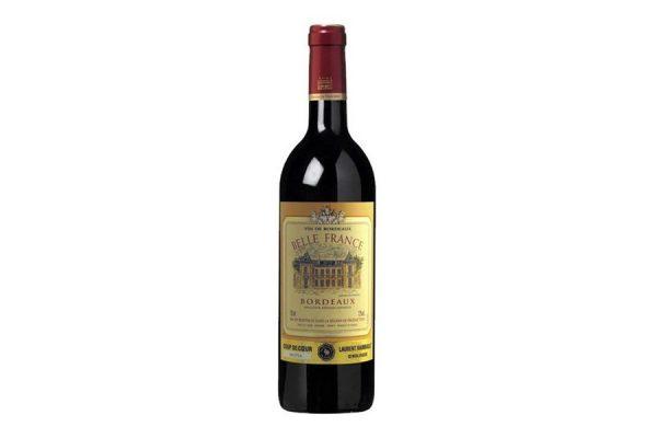 rượu vang Belle France Bordeaux Rouge - Đỏ