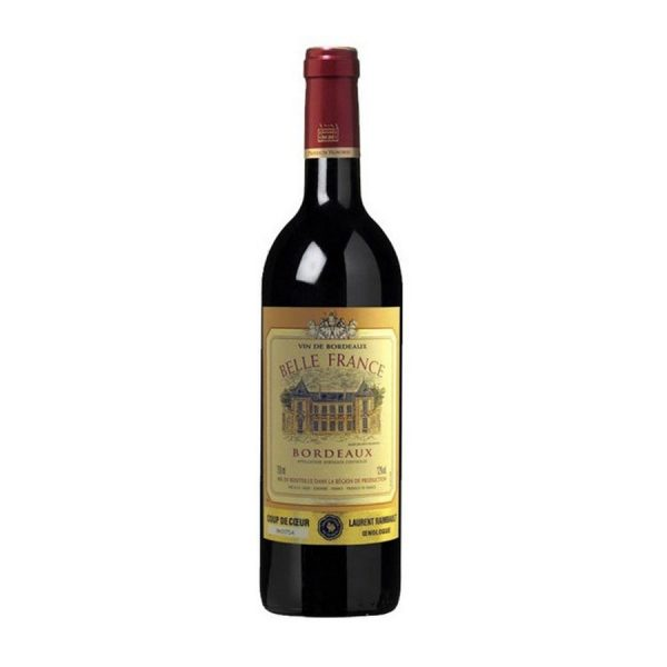 rượu vang Belle France Bordeaux Rouge - Đỏ ava
