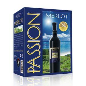 rượu vang Passion Merlot 3L ava