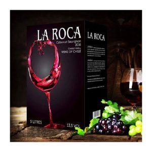 rượu vang La Roca 5 lít ava