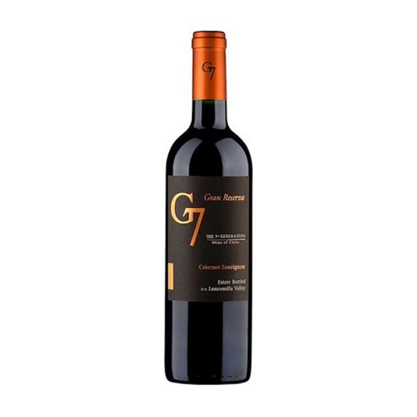 vang G7 Gran Reserva Cabernet Sauvignon ava