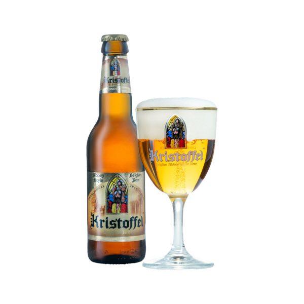 bia Kristoffel vàng chai ava