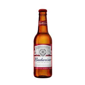 Bia Budweiser chai thủy tinh ava