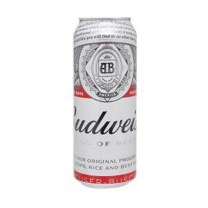 bia Budweiser lon 500ml ava