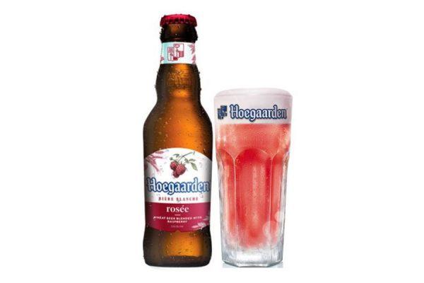 bia Hoegaarden Rose chai