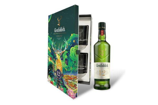 Rượu Glenfiddich 12 – Hộp quà tết 2022