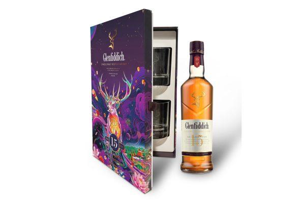 Rượu Glenfiddich 15 - Hộp quà tết 2022