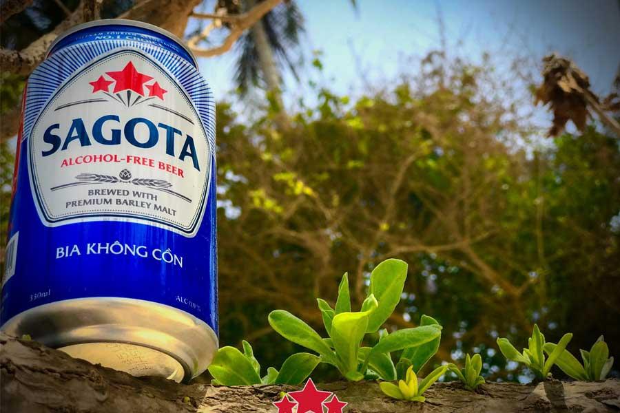 Bia Sagota được chiết xuất từ thành phần tự nhiên với hương vị thơm ngon, đặc trưng
